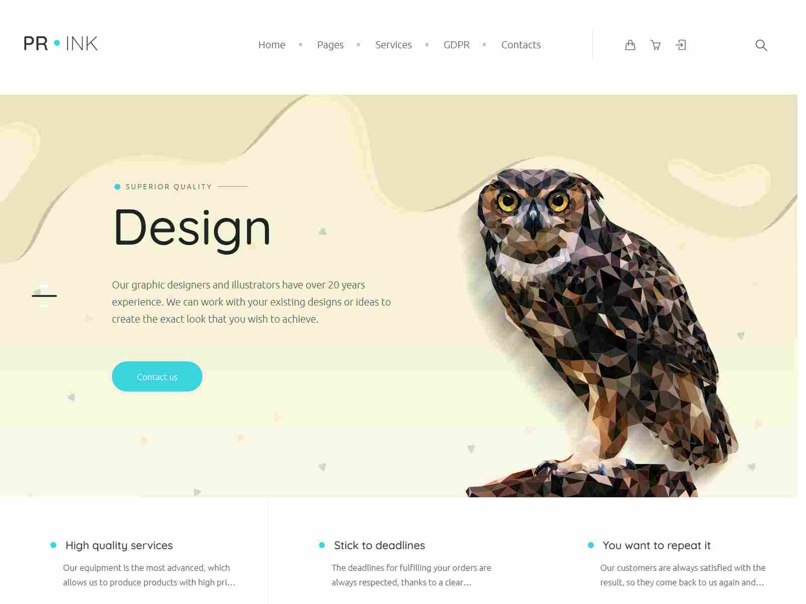 Best Premium Printing WordPress Themes